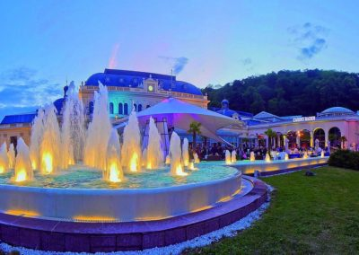 Congress Casino by night